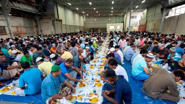 Danube Group Free Iftar Meals Distribution