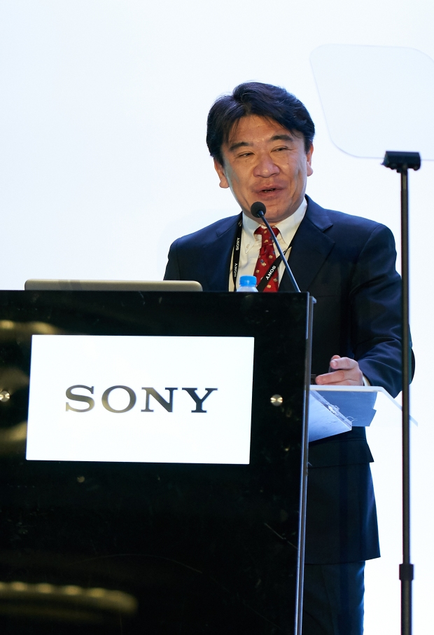 Fumiatsu Hirai, Managing Director, Sony Middle East and Africa